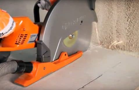 Can I use an angle grinder to cut concrete?